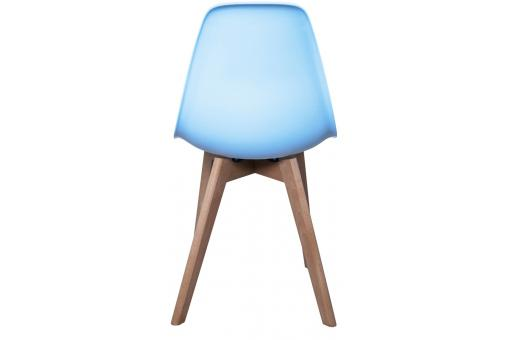 Chaise Enfant Scandinave Bleue BABY NORWAY CM228308-0000