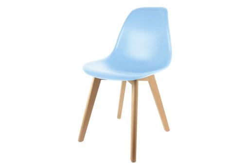 Chaise Enfant Scandinave Bleue BABY NORWAY