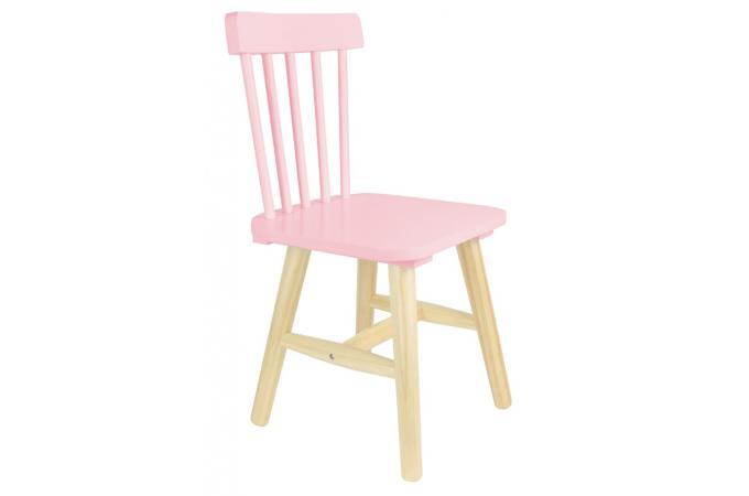 chaise enfant scandinave rose walter design sur sofactory. Black Bedroom Furniture Sets. Home Design Ideas