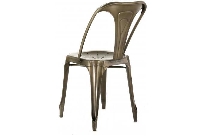 chaise industrielle métal samson design pas cher sur sofactory - Chaises Industrielles Pas Cher