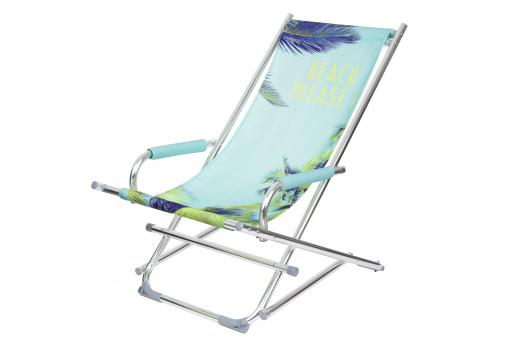 Chaise Longue Beach Please Bleu BERMUDES SoFactory