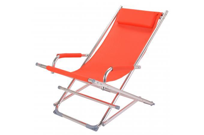 Chaise longue orange bermudes design sur sofactory - La chaise longue toulouse ...