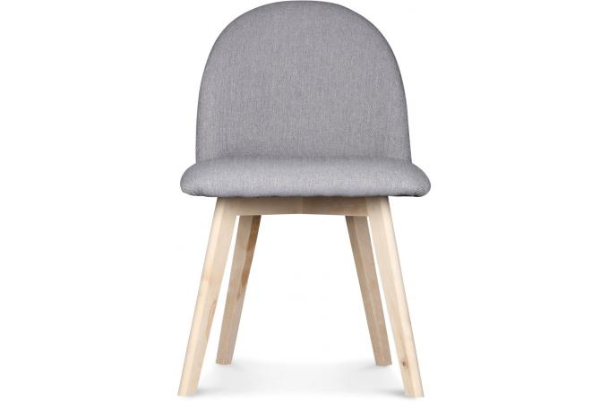 chaise style scandinave tissu grise gori design sur sofactory. Black Bedroom Furniture Sets. Home Design Ideas