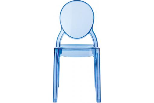 chaise plexi bleu transparent baby elizabeth design sur sofactory. Black Bedroom Furniture Sets. Home Design Ideas