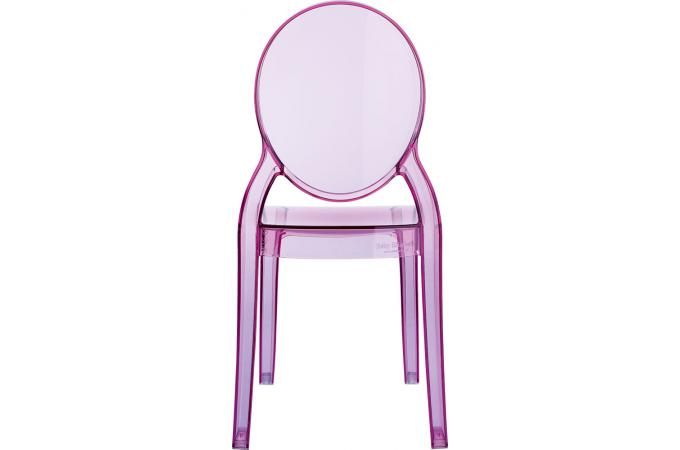 chaise plexi rose transparent baby elizabeth design sur sofactory. Black Bedroom Furniture Sets. Home Design Ideas