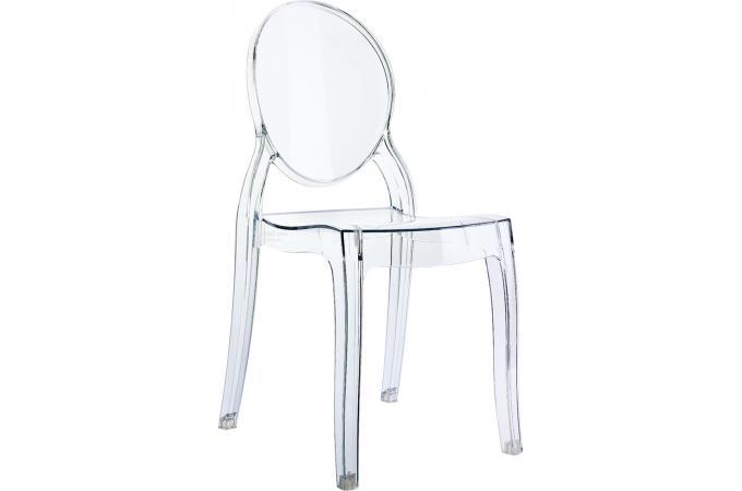 chaise plexi transparent baby elizabeth - Chaise Plexi Transparente