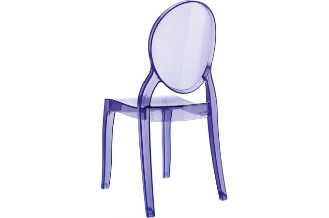 chaise plexi violet transparent baby elizabeth design sur sofactory. Black Bedroom Furniture Sets. Home Design Ideas