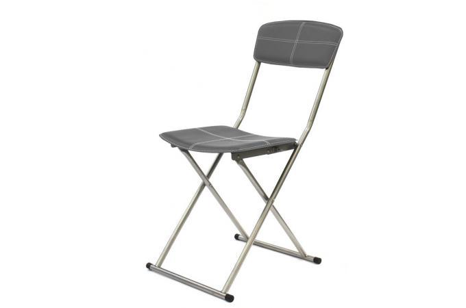 Chaise Pliable Gris Foncé Sigur Design Sur Sofactory