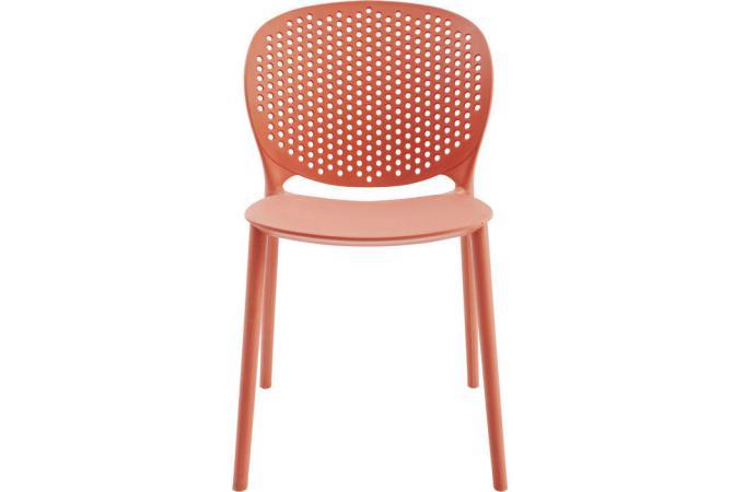 Chaise rouge osso design en direct de l 39 usine sur sofactory for Chaise factory rouge