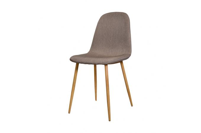 lot de 4 chaises scandinaves beige outan - Chaise Scandinave Beige