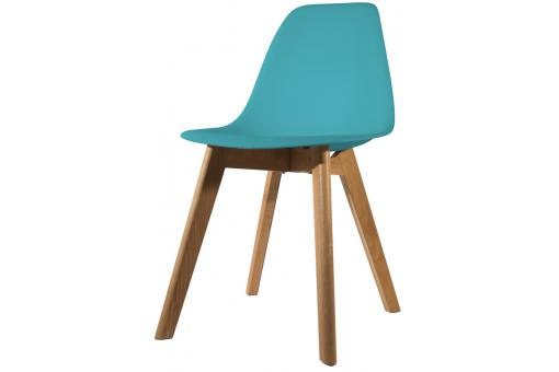 Chaise Scandinave Coque Bleue Canard NORWAY