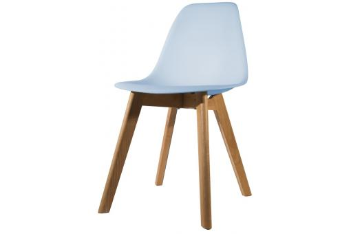 Chaise Scandinave Coque Bleue NORWAY