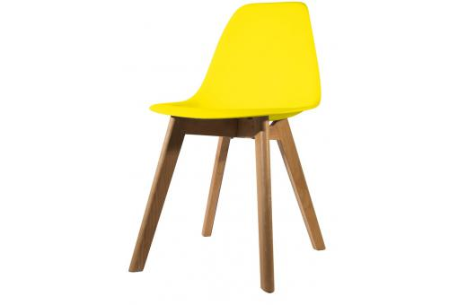 Chaise Scandinave Coque Jaune NORWAY SoFactory
