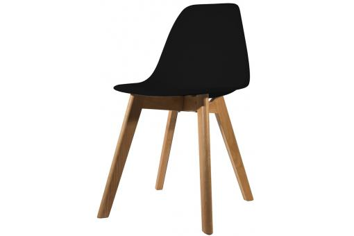 Chaise Scandinave Coque Noire NORWAY