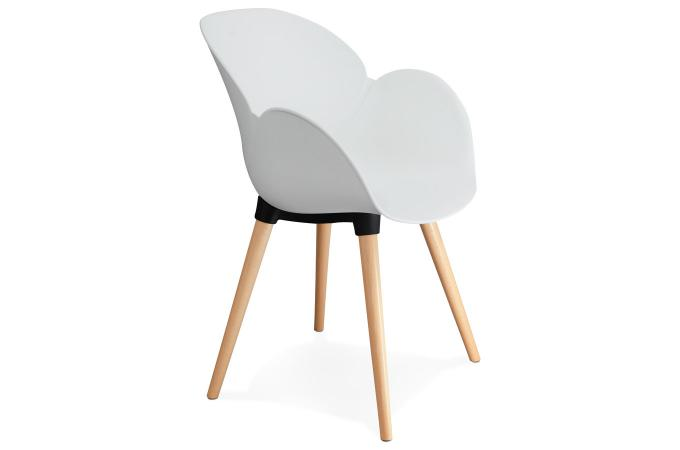 chaise scandinave coque plastique blanc lotta design sur sofactory. Black Bedroom Furniture Sets. Home Design Ideas