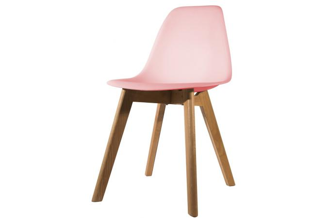 Chaise Scandinave Coque Rose NORWAY
