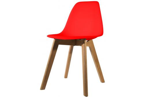 Chaise Scandinave Coque Rouge NORWAY