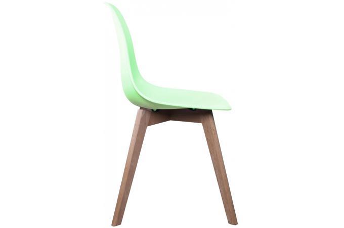 Chaise Scandinave Coque Vert Pastel NORWAY