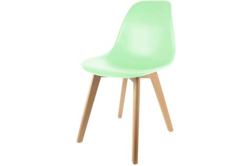 Chaise Scandinave Coque Vert Pastel NORWAY SoFactory