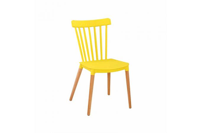 Chaise Scandinave Jaune CITRUS