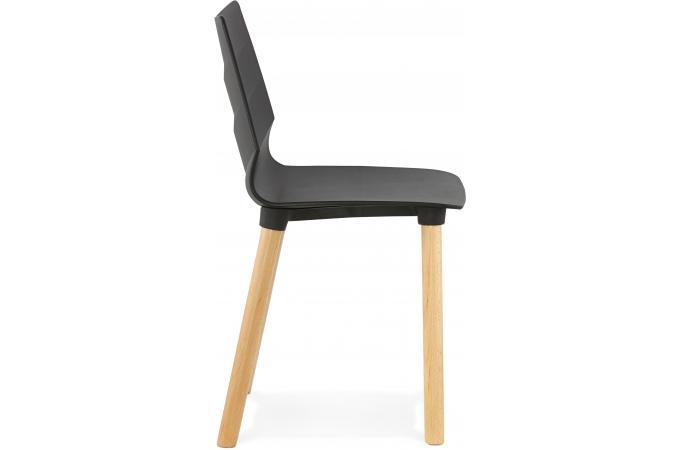 chaise scandinave noire visto design sur sofactory. Black Bedroom Furniture Sets. Home Design Ideas