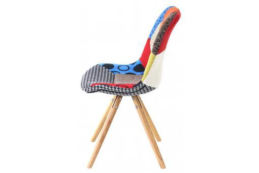 Chaise Scandinave Patchwork FORWAY PR229992-0000