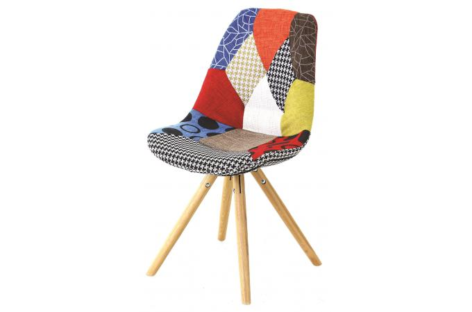 Chaise Scandinave Patchwork FORWAY