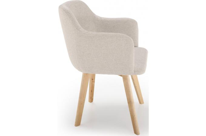 Chaise scandinave beige - Chaise beige pas cher ...