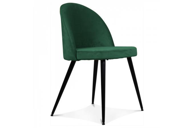 chaise velours vert lybray - Chaise Verte