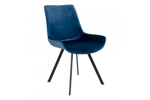Chaise Velours Bleu TORVALD SoFactory