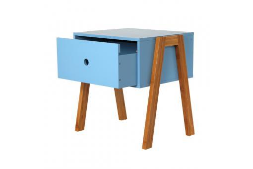table de chevet empilable bleu gotcha design sur sofactory. Black Bedroom Furniture Sets. Home Design Ideas