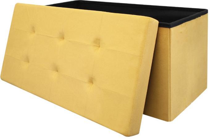 Banquette Coffre Pliable Jaune Meli Design Sur Sofactory