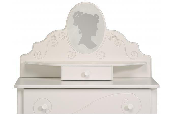 Coiffeuse Pour Chambre Enfant Blanc Laqué ASTRID design sur SoFactory