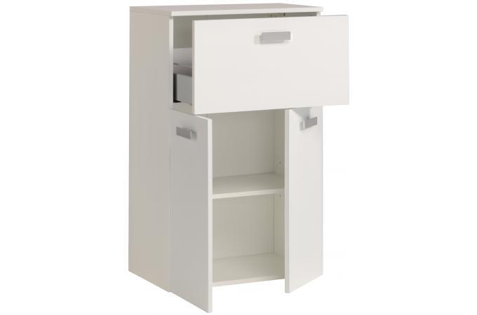 Colonne de salle de bain finition laqu e blanc sun 60 cm - Colonne salle de bain pas chere ...
