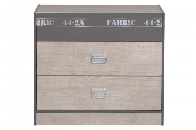 commode 3 tiroirs beige young design sur sofactory. Black Bedroom Furniture Sets. Home Design Ideas