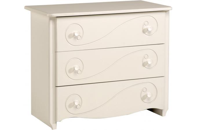 commode pour chambre enfant blanc laqu astrid design sur sofactory. Black Bedroom Furniture Sets. Home Design Ideas