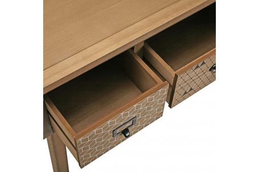Console 3 tiroirs PEGO Beige VE187346-0000