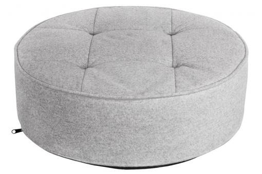 Coussin Rond Gris Clair NOUY SoFactory