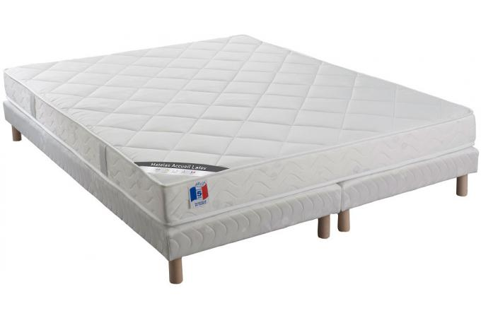 ensemble matelas sommier 160x200 latex. Black Bedroom Furniture Sets. Home Design Ideas