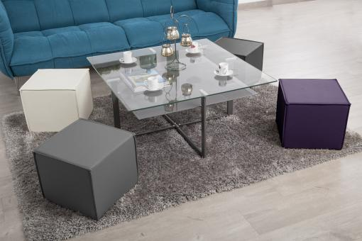 Table basse Sofactory multicolore So112904-0000