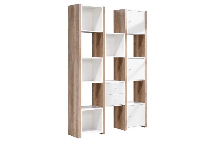 etag re blanche en bois leader design sur sofactory. Black Bedroom Furniture Sets. Home Design Ideas