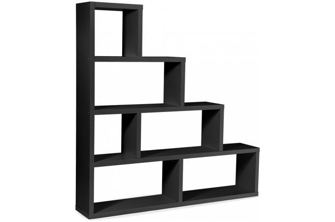 etag re escalier 6 compartiments stairway noir design sur. Black Bedroom Furniture Sets. Home Design Ideas