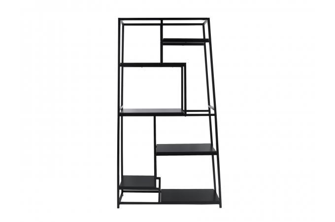 etag re moderne noire kheima design sur sofactory. Black Bedroom Furniture Sets. Home Design Ideas