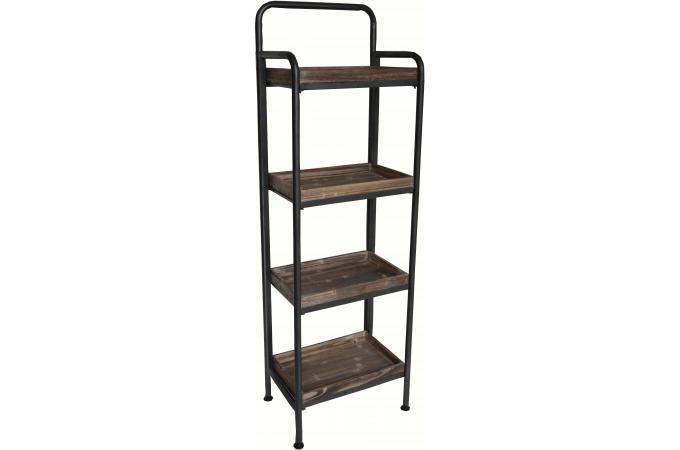 etag re sur pieds en m tal et bois loman design sur sofactory. Black Bedroom Furniture Sets. Home Design Ideas