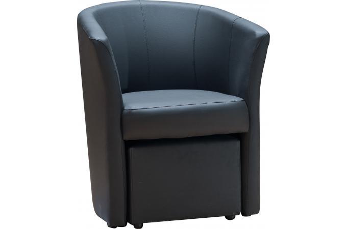 fauteuil cabriolet repose pieds noir buzz design 259861 1 680x450 Résultat Supérieur 5 Élégant Fauteuil Crapaud Cuir Noir Stock 2017 Pkt6
