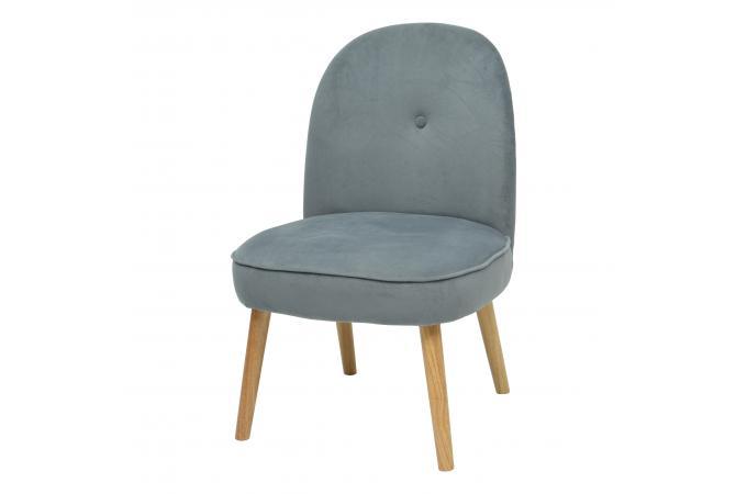fauteuil crapaud scandinave gris poldine design sur sofactory. Black Bedroom Furniture Sets. Home Design Ideas
