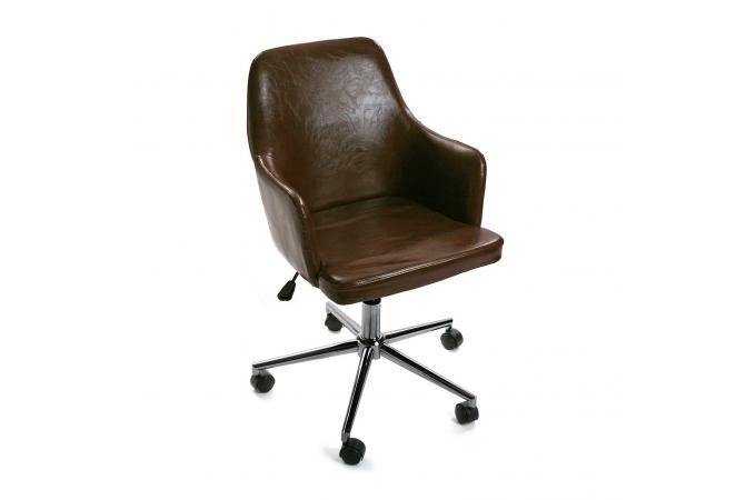 Chaise De Bureau Marron PAINTER