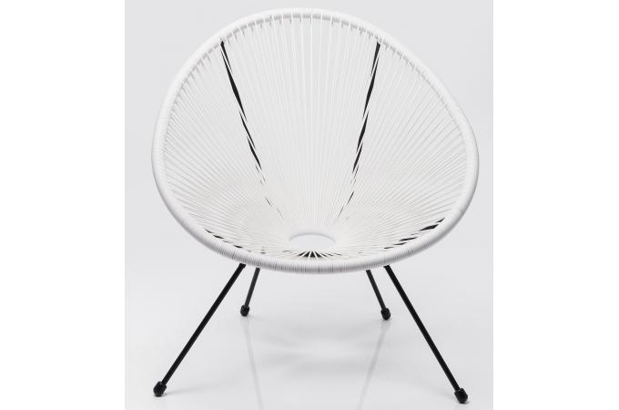 Fauteuil Design Blanc AKA SoFactory