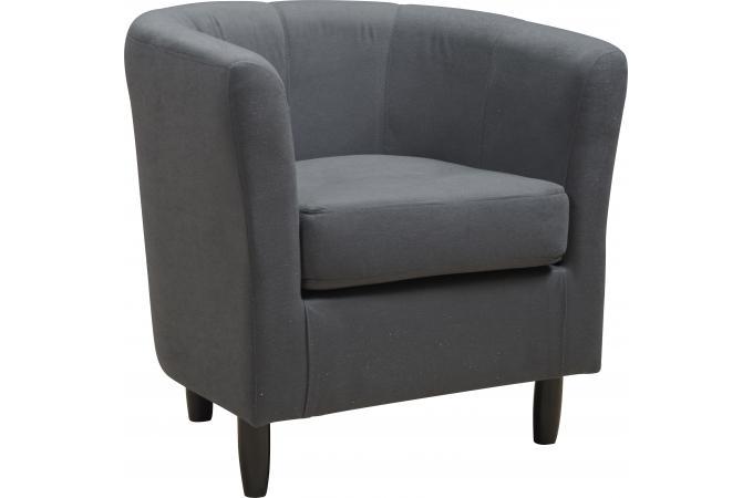 fauteuil design gris nino design sur sofactory. Black Bedroom Furniture Sets. Home Design Ideas