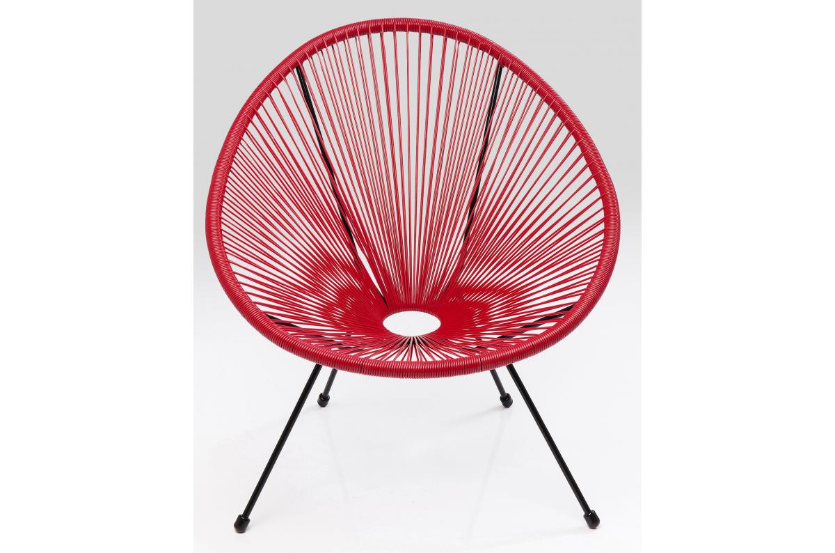 Fauteuil Design Rouge AKA SoFactory